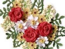 Crochet flower patterns. Free