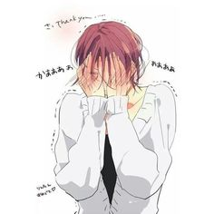 Rin Matsuoka ❤ liked on Polyvore featuring anime