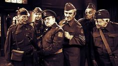 Dad's Army - Classic sitcom about the exploits of a Second World War Home Guard platoon Are You Being Served, Dad's Army, Comedy Actors, Home Guard, Bbc Tv Series, Bbc Radio, World War Two, Dads, Classic