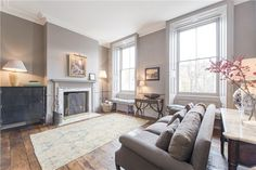 I just about died when I stumbled upon this real estate listing on RDuJour. Who wants to move to London with me? Okay, so the£8,500,000 price tag may be a bit steep, but just look at the space! I love all the architectural details and cozy grey paint job. A girl can dream… (see the …