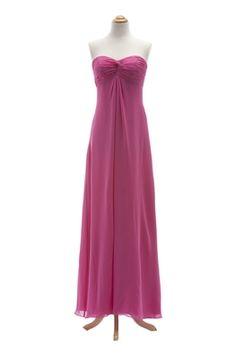 Landa Designs Style MC433 - Chiffon Dress with Knotted Sweetheart Bodice