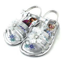 Frozen Elsa Anna Girls Silver Snowflake Sandals Shoes (12 M US Little Kid) Disney http://www.amazon.com/dp/B00V6TJGVI/ref=cm_sw_r_pi_dp_3PR9wb1VX2MAH