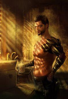 Deus Ex Human Revolution Adan Jensen
