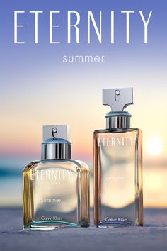 ETERNITY Summer combines the freshness of fruit notes with lush floral accents, wrapped in warm sandalwood + sensual musk.