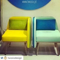 Bi Silla at #MayDesign! London felt in Love with these chairs :) #twosixdesign #maydesignseries #furniture #color #design #silviacenal
