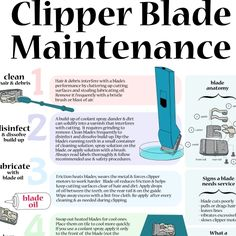 Take good care of your blades and they will take good care of you!