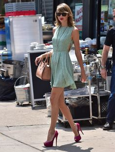 Taylor Swift Finally Explains Her Post-Gym Flawlessness - MTV