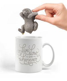 Slow Brew Sloth Tea Infuser | The Awesomer | Awesome Stuff