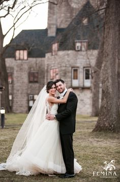 Formal bride and groom portrait | Femina Photo + Design