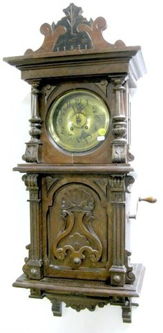 I just discovered this Signed Lenzkirch Symphonian Music Box Clock on LiveAuctioneers and wanted to share it with you: www.liveauctioneers.com/item/7347586