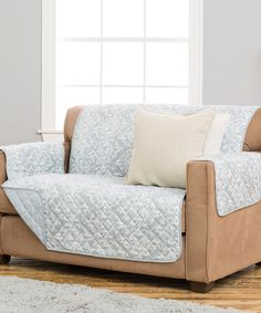 Another great find on #zulily! Kingston Pewter Stain-Resistant Furniture Cover by Home Fashion Distributors #zulilyfinds