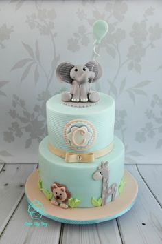 Cake my day baby shower cakes for boys, torta baby shower, cake Torta Baby Shower, Elephant Baby Shower Cake, Elephant Cakes, Baby Shower Cakes For Boys, Baby Boy Cakes, Baby Shower Themes, Baby Boy Shower, Baby Shower Decorations, Shower Ideas