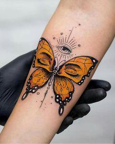 Tatuagem borboleta tattoo butterfly The post Tatuagem borboleta tattoo butterfly appeared first on Best Tattoos. Dope Tattoos, Bild Tattoos, Pretty Tattoos, Beautiful Tattoos, Body Art Tattoos, New Tattoos, Tatoos, Drawing Tattoos, Female Tattoos