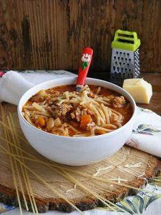 Makacska konyhája: Bolognai leves