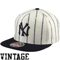 79208f2cd7b53 New York Yankees 1919-21 Cooperstown Snapback Hat - White Navy Blue Yankees  Hat