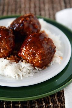 Meatball Recipes, Meat Recipes, Asian Recipes, Dinner Recipes, Cooking Recipes, Meatball Sauce, Beef Dishes, Food Dishes, Sweet And Sour Meatballs