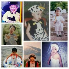 BTS childhood