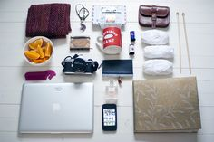 What would you grab if your house was on fire? Most of these pics show Apple products.
