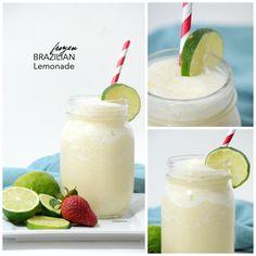 Frozen Brazilian Lemonade