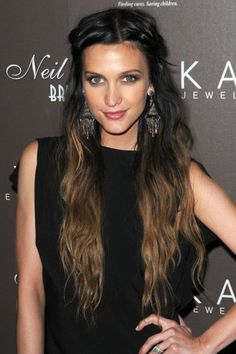 great ombre style for dark hair
