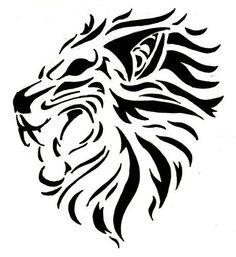lion tattoo!