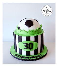 Bolo de futebol / Soccer cake