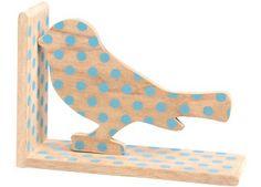 Gepunktete Tier Buchstütze aus Holz von Pakhuis Oost