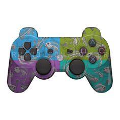 Custom PS3 controller Wireless Glossy WTP-568-Reaper-H2O-XL Custom Painted
