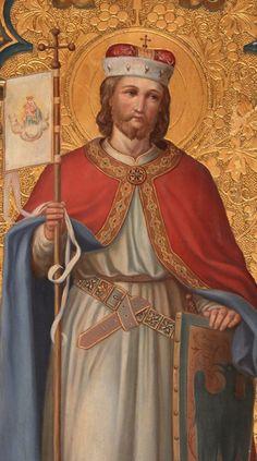 Svatý Václav (St.Wenceslas), Duke of Bohemia, posthumously declared King of Bohemia (c. 907 – September 28, 935), main patron saint of Czechia
