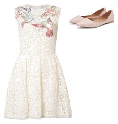 """""""Untitled #340"""" by wrigannabelle on Polyvore featuring RED Valentino"""
