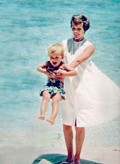 Julie Andrews and her daughter, Emma.