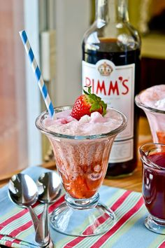 11 Super-Happy Strawberries & Cream Cocktails: The classic duo is ready to get a little wild with your favorite spirits and liqueurs.