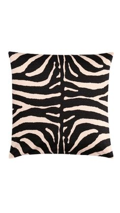 Zebra pillow - just got these last week!! cute accent on a couch or bed!