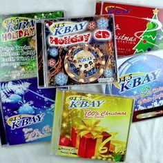K-BAY Radio Christmas 7 Cd Lot Vols 1-2-4-5-6-7-9 Holiday Pop Rock Favorites #christmas #KBAY