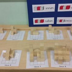 Dice buildings for the teaching test our Referendarin.Alles went great, no wonder in the first-class preparation. # # Primary school grundschulmat … - New Site Primary Education, Primary School, Educational Activities, Math Activities, Early Childhood Activities, Math Challenge, Grammar School, Math For Kids, Creative Home