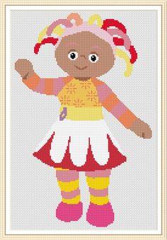 Upsy daisy cross stitch