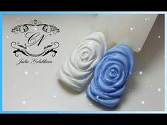 Дизайн ногтей Свитер! Маникюр вязка, косичка, свитерок. 3D Sweater Nail Art Tutorial - YouTube