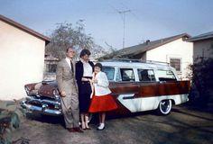 1956 Plymouth station wagon