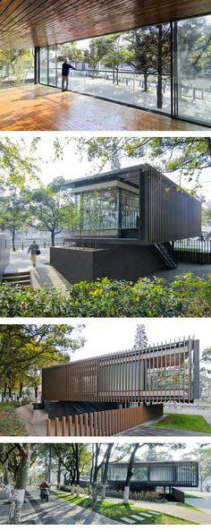 #RiversidePark #Pavilion #vector architects China