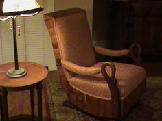 rocking chair rockers furniture ideas dyi upholstery project ideas ...