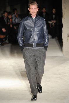 N.Hoolywood Fall 2014 Menswear Collection Slideshow on Style.com