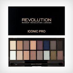 Iconic Pro 2 Palette, Makeup Revolution | NordicFeel