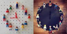 com reciclar figures Playmobil - totnens Clock, Deco, Classic, Guardian Angels, Playmobil, Watch, Derby, Clocks, Decor