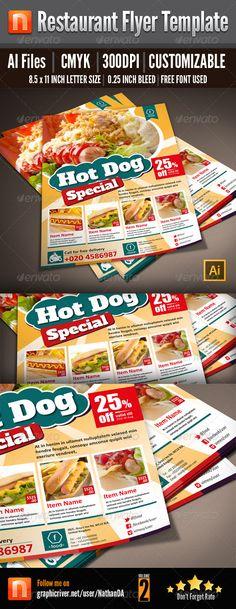 Restaurant Flyer Template - V2
