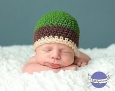 CROCHET PATTERN Basic Beanie Crochet Patterns (All sizes included)