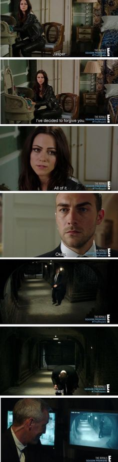 E! The Royals S3E01 #jaspenor