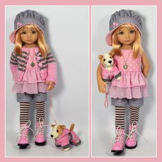 Pink-Gray-Outfit-Dog-for-Little-Darlings-Dianna-Effner-13-Maggie-Kate