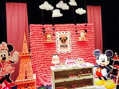 Minnie Mouse Theme Party, Birthday Party Themes, Holiday Decor, Home Decor, Decoration Home, Room Decor, Home Interior Design, Home Decoration, Interior Design