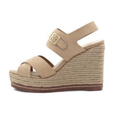 Wedge sandal Shops, Spring Summer 2016, Bohemian Style, Wedge Sandals, Taupe, Espadrilles, Wedges, Fashion, Fashion Styles