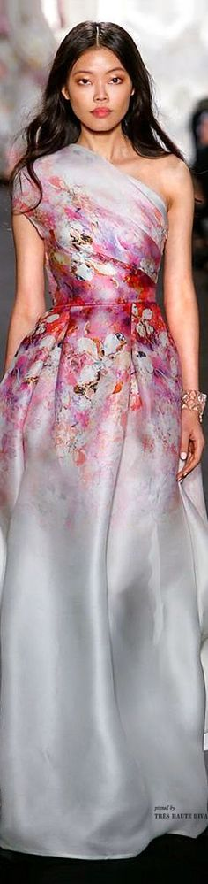Naeem Khan Spring 2015 RTW (via Pin by Dee Musiel on Beauty Quatre | Pinterest)